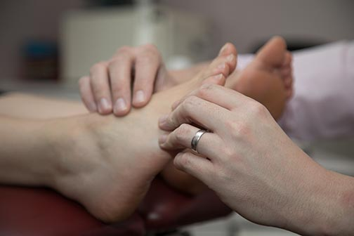 Podiatry at Taunton Chiropractic Clinic